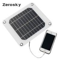 Zerosky 5ボルト5ワットソーラーパネル