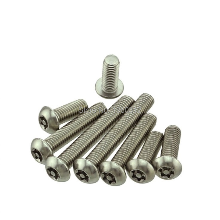 Stainless Steel M8 X 40 Button Socket Head Screw A2 5 Pack