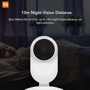 Image 3 - Xiaomi Mijia 1080P Smart Ip Camera 130 Graden Fov Nachtzicht 2.4Ghz Wifi Xioami Thuis Kit Security Monitor baby Cctv