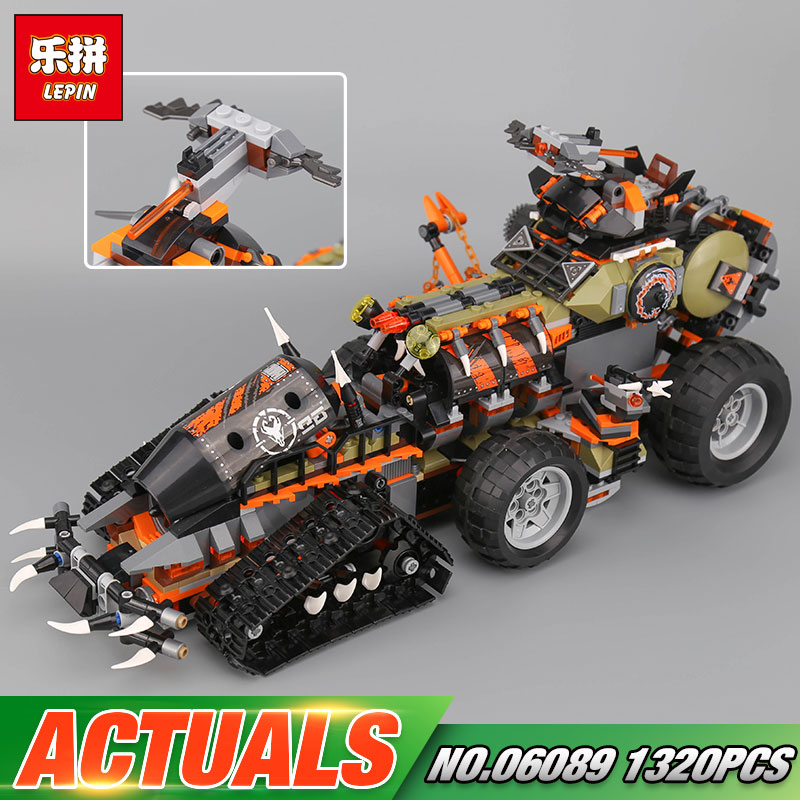 Lepin 06089 Toys Blocks Compatible With The 70654 Dieselnaut Set Buidling Blocks Bricks Educational Kids Toys Christmas Gifts