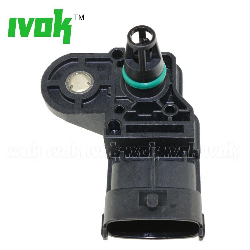 MAP Sensor for Fiat 500 L//X Bravo MK2 1.6//1.9//2.0D Doblo 119 263 Punto 55219298