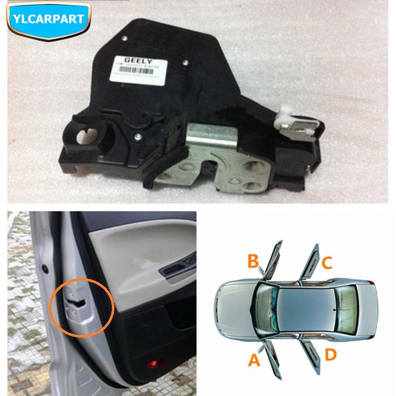 Pour Geely Emgrand X7, EmgrarandX7, EX7, SUV, GC5, Geely515, SC5 HB, hayon, actionneur de verrou de verrouillage de porte de voiture