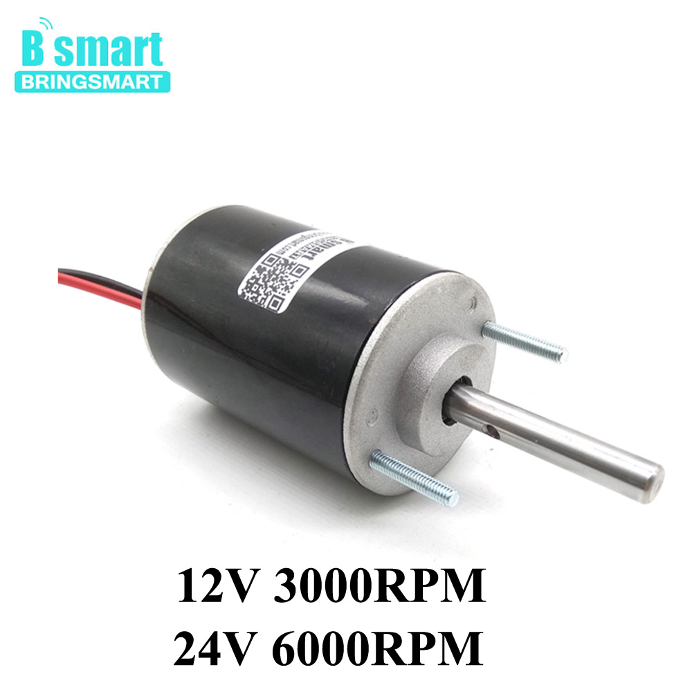 12V DC High Speed Motor 30W 3000rpm/6000rpm 24Volt DC Electric Motor Reversible Adjustable Speed Marshmallows Cotton Candy Motor цены