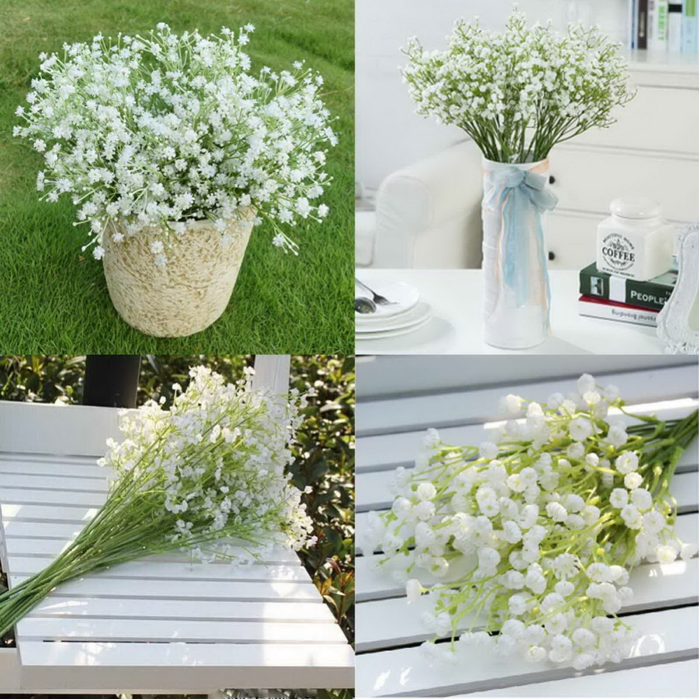 Aliexpress buy ourwarm 6pcs white baby breath artificial aliexpress buy ourwarm 6pcs white baby breath artificial flowers for wedding decoration event party supplies home decorative flowers wreaths from dhlflorist Images