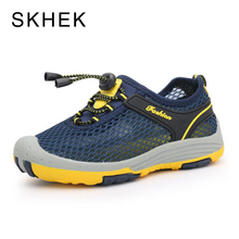 SKHEK 2018 Summer Fashion Kids Shoes Cut-outs Air Mesh Breathable For Boys Girls Children Sneakers Baby Boy Girl Sandals