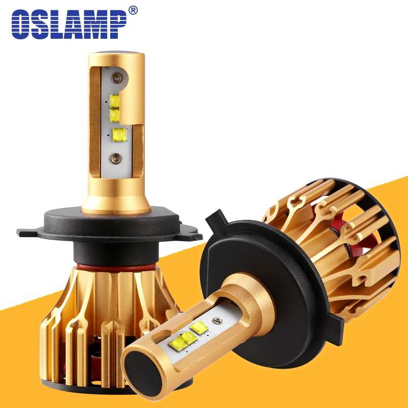 Oslamp T6 LED H4 H7 H11 9005 9006 Car Headlight Bulbs 6500K 70W 7000lm SMD Chips Auto Led Headlamp Bulb Automobile Car Light 12V