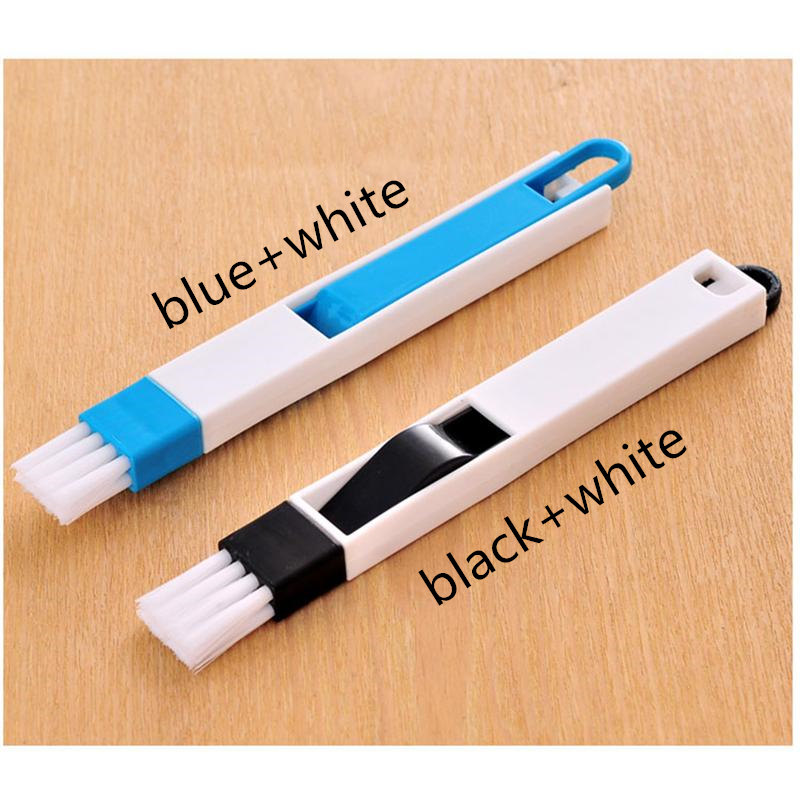 Newest Arrival Multipurpose Window Door Keyboard Computer Cleaning Brush Dustpan 2 In 1 Tool Dust Removal Cleaner Cleaning Brush in Cleaning Brushes from Home Garden