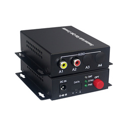 1 Audio Over FC Fiber optic Extender (Bidirectional) Transmitter and Receiver, for Audio intercom broadcast system (Tx/Rx) Kit
