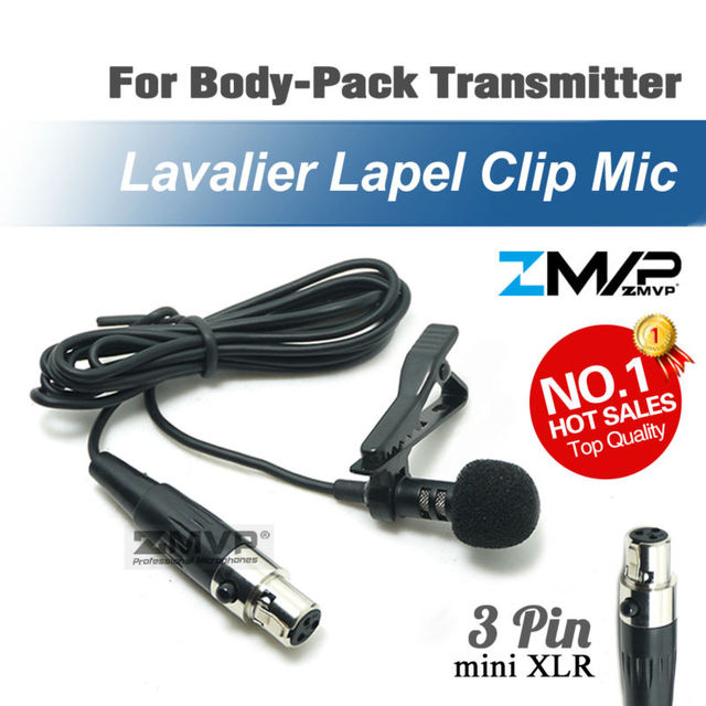 Professional Lavalier Lapel Tie Clip Cardioid Condenser Microphone For Shure Wireless Body Pack Transmitter mini 3_640x640 aliexpress com buy professional lavalier lapel tie clip cardioid TA4F at gsmx.co