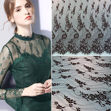 3 Meters French Lace Fabrics 2019 African Tulle Lace Trim DIY Crafts Wedding Dress Clothing Bra Lace Material Handmade