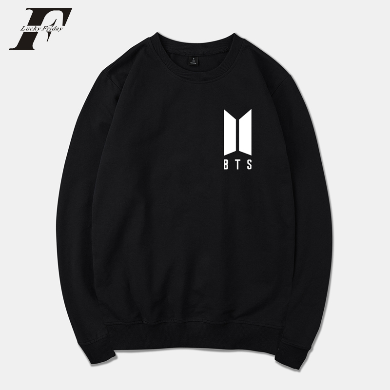 LUCKYFRIDAYF 2018 BTS Jungkook Sweatshirt Kpop Love Yourself Hoodies Fashion Bangtan Boy ...