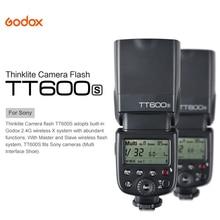 Godox TT600S GN60 2.4G Sans Fil Caméra HSS Flash Speedlite pour Sony A7 A7S A7R A7 II A6000 A6300 A6500 A58 A99 DSLR