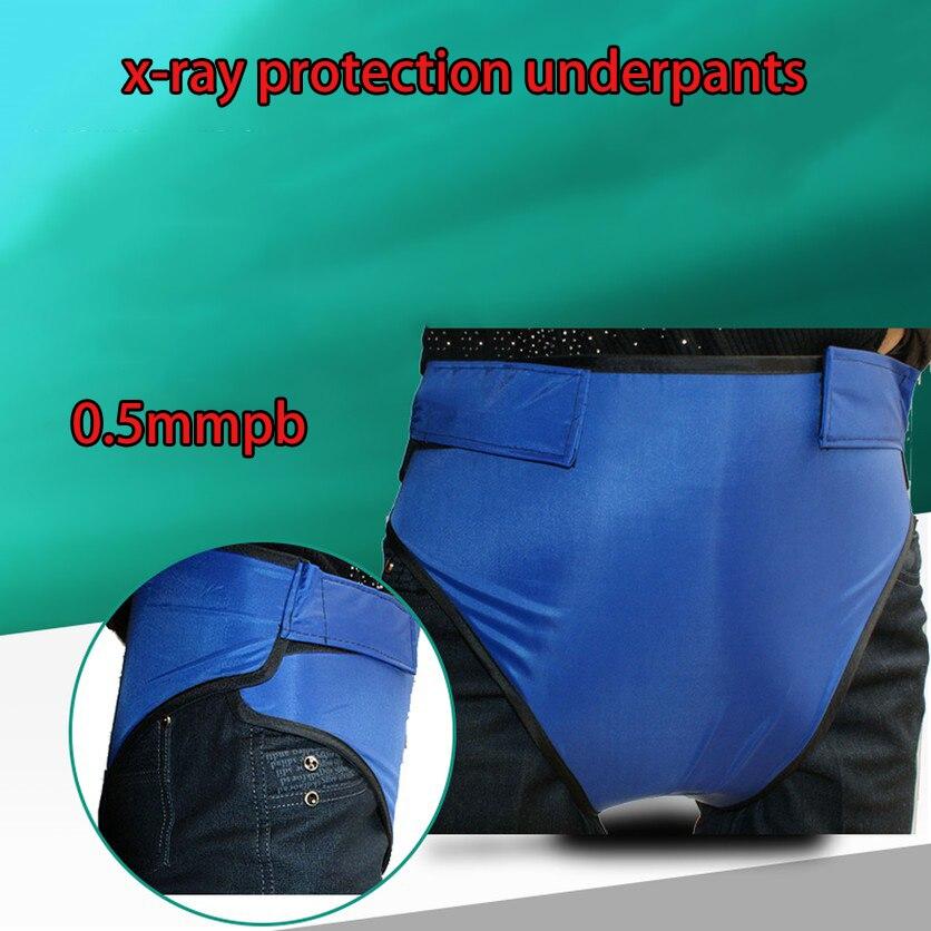 0.5 0.5mmpb x-ray protection slip hommes femmes unisexe anti-x-ray protection sous-vêtements vêtements de sécurité