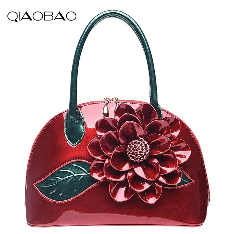 d96b3815c1a18 QIAOBAO Moda Çiçek Moda Kadın CrossBody Çanta Kadın Omuz Çantaları Kadın  Haberci Çanta Evlenmek