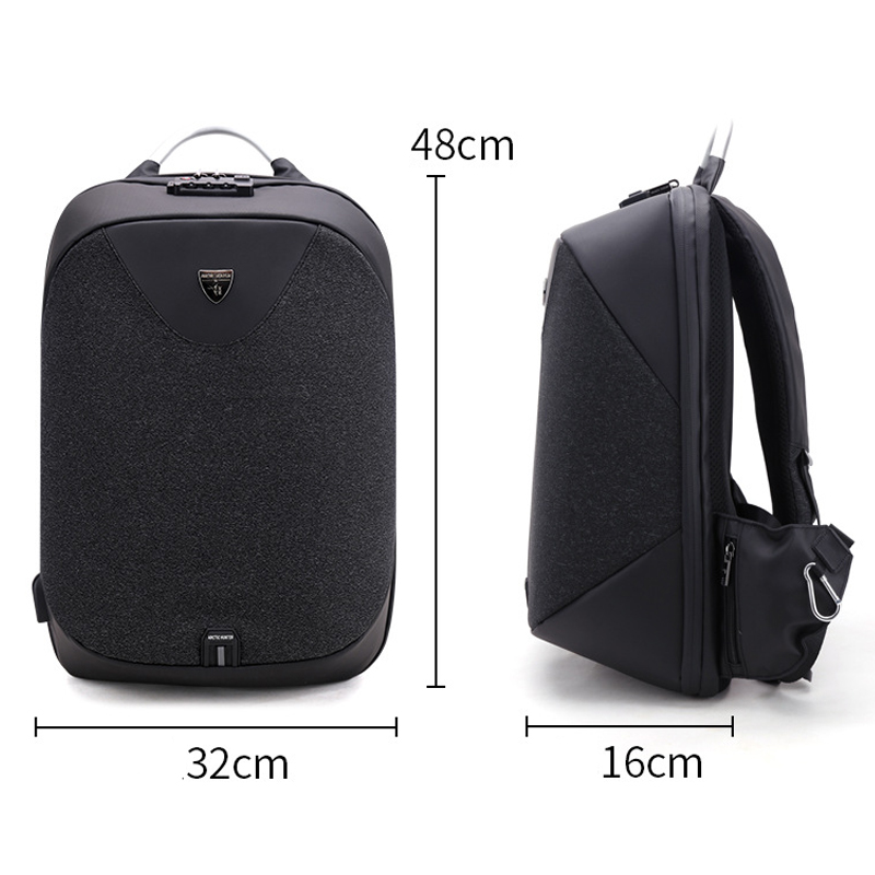 Image 2 - ARCTIC HUNTER Anti Theft Waterproof USB Men 15.6 inch Laptop 
