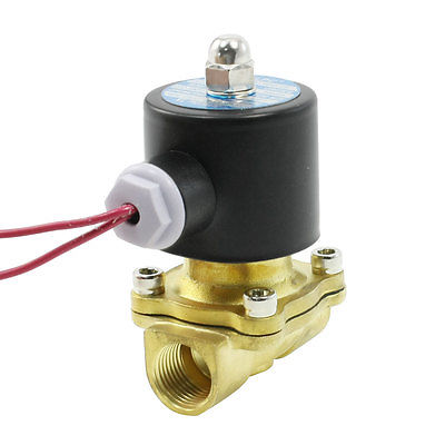 2W 160 5 2 Position 2 Way 1 4 Port Direct Acting Solenoid Valve AC 220V