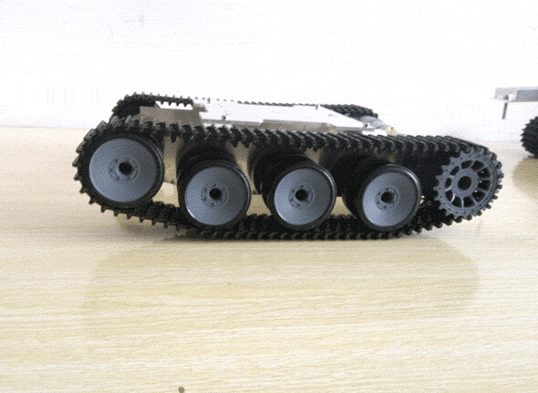 SN1800 Metal Aluminium alloy Robot Tank Chassis Rugged Powerful Supper big
