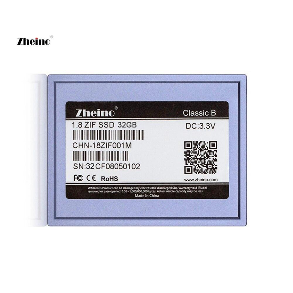 Zheino 1.8 インチ/5 ミリメートル CE/ZIF ギガバイト 32 SSD (2D MLC ない TLC) dell D420 D430/MacBook Air 1st A1237/HP ミニ 1000 2710 p/Toshiba2410 など  グループ上の パソコン & オフィス からの 内部 SSD の中 1
