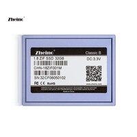 Zheino 1.8 Inch/5mm CE/ZIF 32GB SSD (2D MLC NOT TLC) For Dell D420 D430/MacBook Air 1st A1237/HP Mini 1000 2710P/Toshiba2410 etc