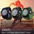 Fuster IP68 Профессиональный Водонепроницаемый Bluetooth Smart Watch XR05 для Летнего Купания Деятельности с Высота Метр UV Monitor Часы