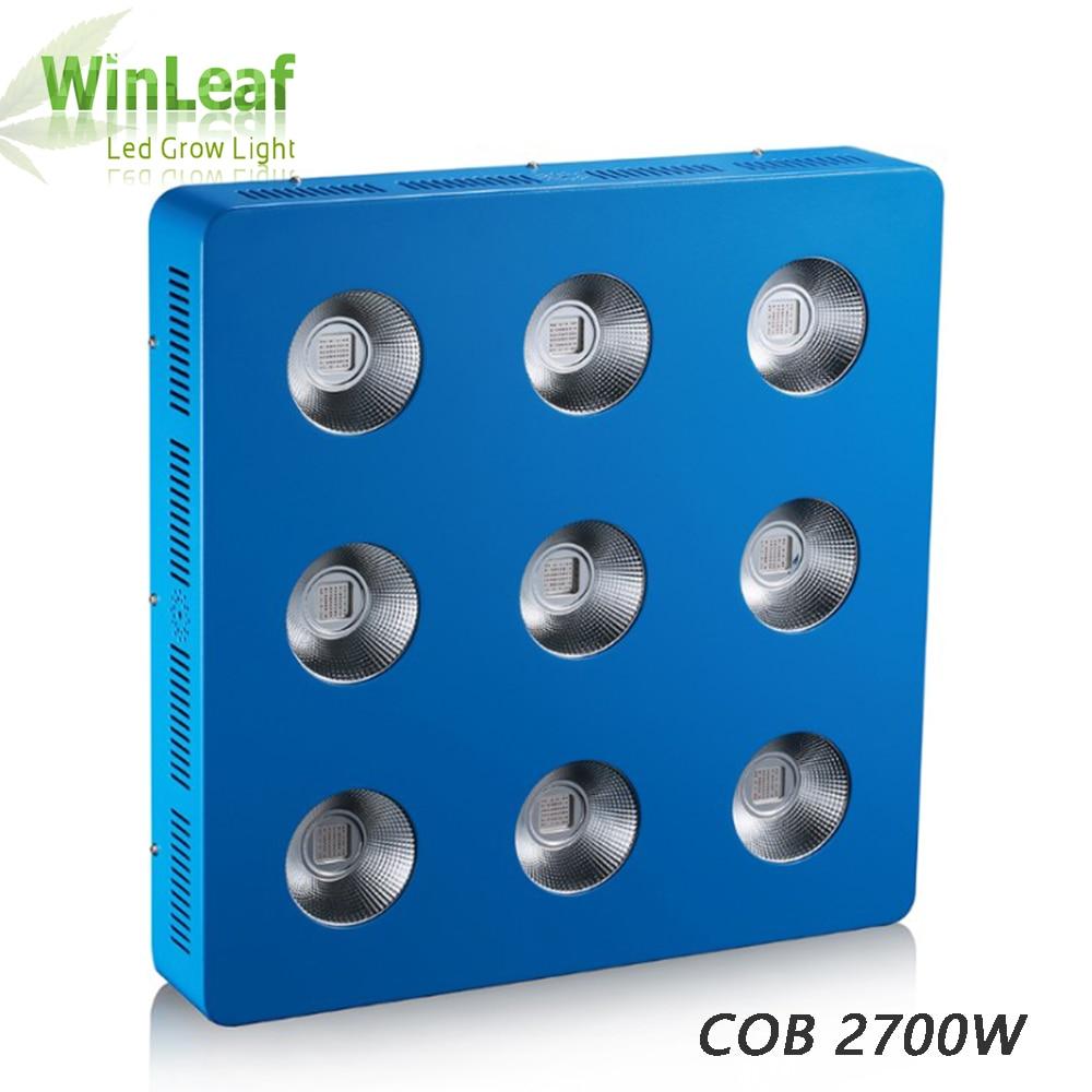 600w 1200w 1800w 2700w COB LED Plant Grow Lights Full Spectrum for Vegetable Hydroponics Greenhouse Plant