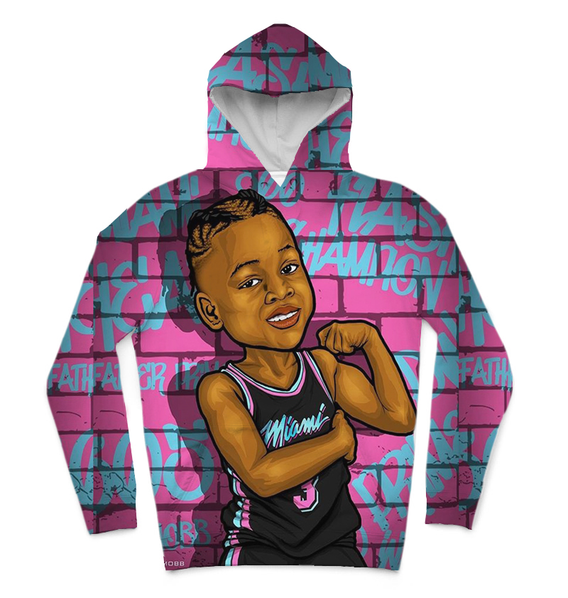 REAL American SIZE miami no.3 high quality 3D Sublimation Printing Hoody  Hoodie Plus size 5xl 6xl-in Hoodies & Sweatshirts from Men's Clothing    1