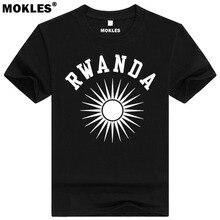RWANDA t shirt diy free custom made name number rwa T-Shirt nation flag rwandan rwandese french country text university clothing
