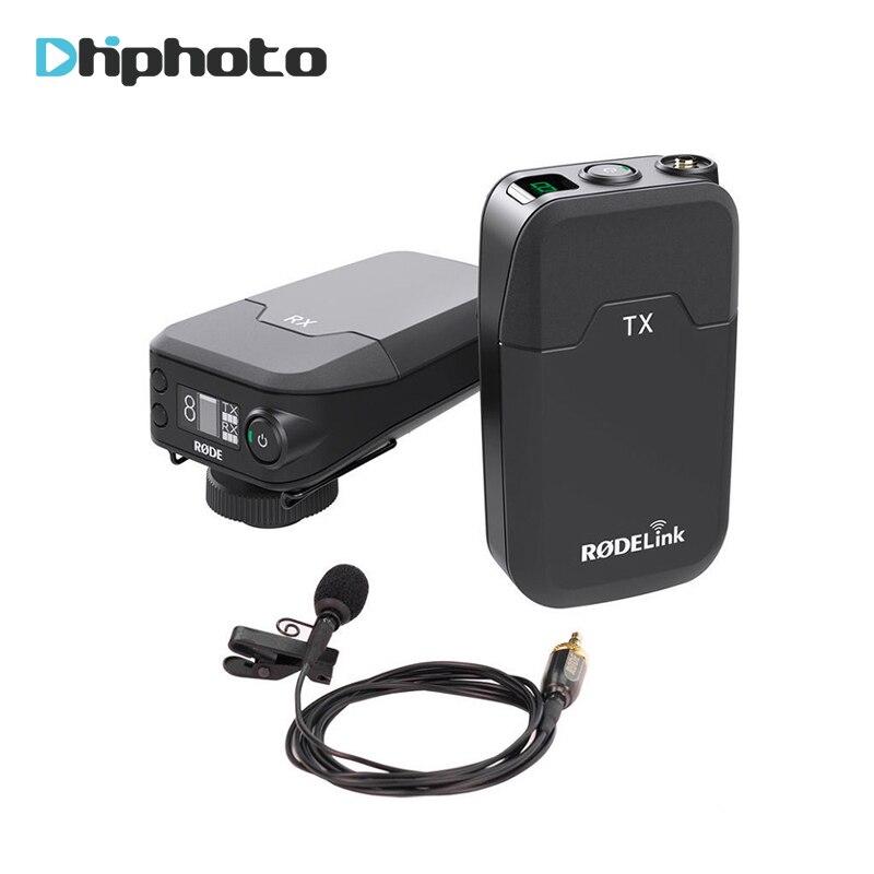 RODELink Wireless Lavalier Microphone Filmmaker Kit RODE Link RODLNK-FM DSLR portable filmmaker system