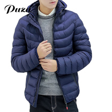 Men's Parkas Winter Jacket Men Slim Thicken Hooded Outwear Warm Fit Coat Top Brand Clothing Casual Mens Coat Veste Homme Tops