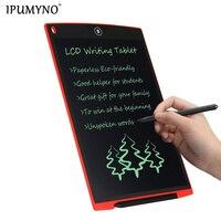 8,5 дюймов портативный умный ЖК-планшет для письма электронный блокнот Рисование графика планшет со стилусом ручка с батареей CR2025