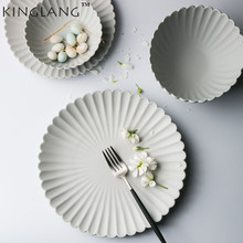 super high quality nice designed White matte ceramic dinner plate 1 person dinner bowl durable CHINA & Buy personalized dinner plates and get free shipping on AliExpress.com