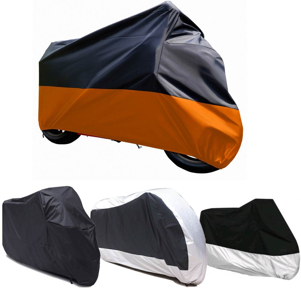 7 Colors,L,XL,2XL,3XL,4XL Universal Outdoor Uv Protector Bike Rain Dustproof Motorcycle Cover For Scooter Covers Waterproof