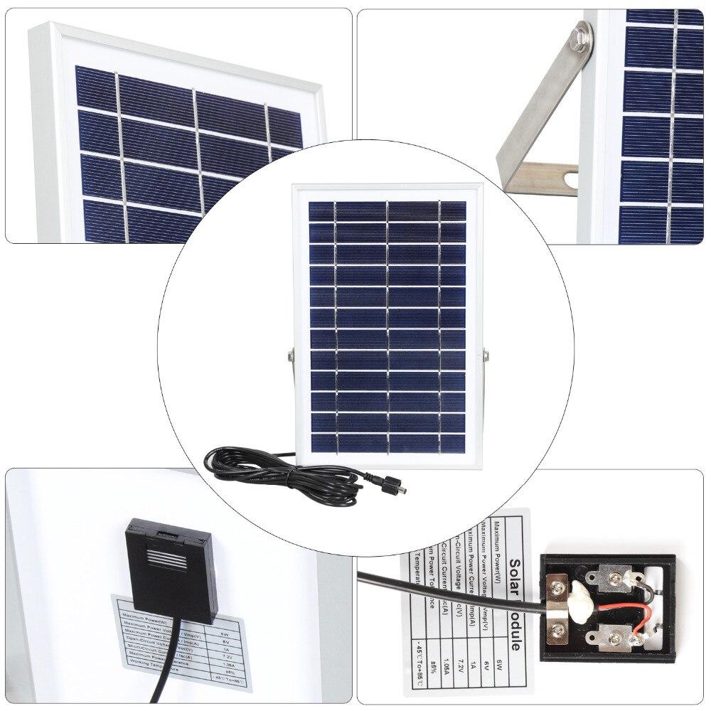 led light solar