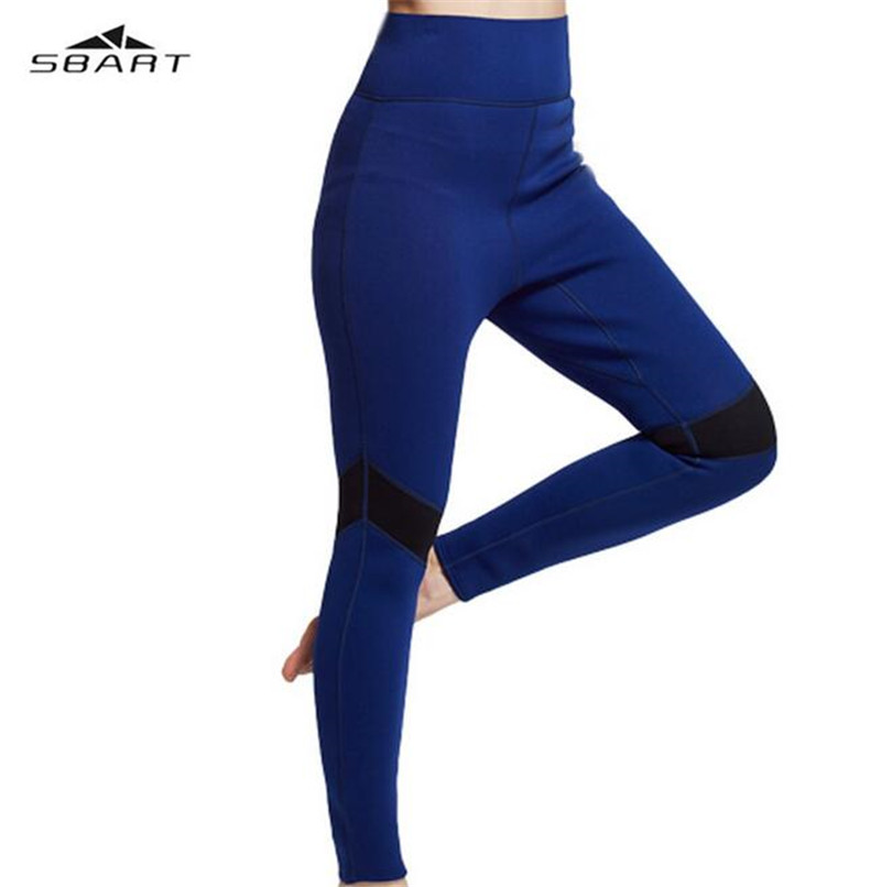 SBART 2mm Neoprene Slim Fit Women Diving Suits Pants Wetsuits Tight Surfing Trousers Snorkeling Scuba Equipment