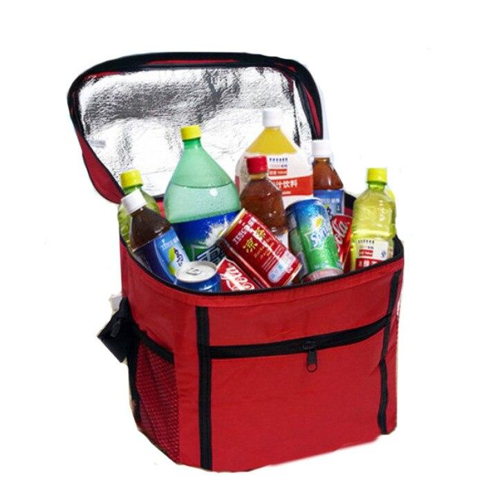 2018 Heißer Verkauf Tragbare Picknick Mittagessen Bagthermal Kühler Wasserdicht Isolierte Tragbare Tote Picknick Mittagessen Tasche Neue Mode Lebensmittel Taschen Fein Verarbeitet