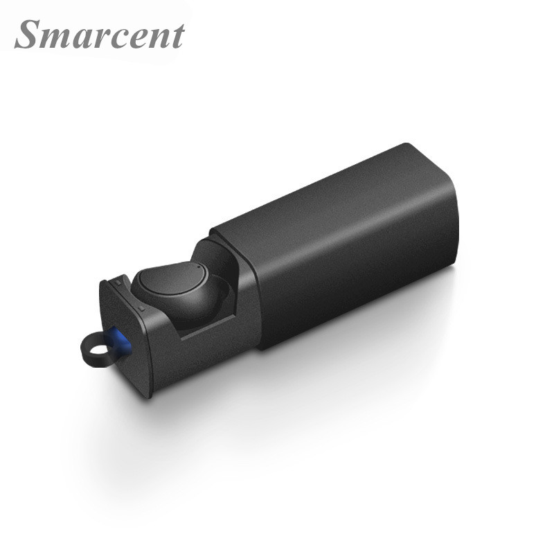 Smarcent Q8 Mini Bluetooth Headset Wireless V4.1 Headphones in Ear Car Bluetooth Earphone Stereo Earbuds Handsfee + Charging box remax 2 in1 mini bluetooth 4 0 headphones usb car charger dock wireless car headset bluetooth earphone for iphone 7 6s android