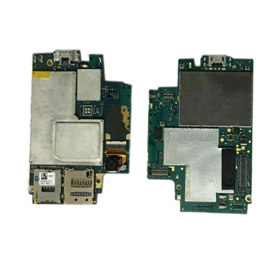 UTILISÉ En Stock 100% Testé Travail Pour Sony Xperia Z3 série D6653 D6603 D6633 D6683 Carte Mère Smartphone Réparation Remplacement