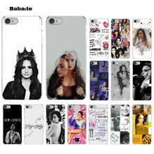 Babaite Demi Lovato Stay strong Smart Cover Transparent Soft Shell Phone Case for Apple iPhone 7 6 6S Plus X XS MAX 5 5S SE XR 8 yinuoda demi lovato customer high quality phone case for apple iphone 8 7 6 6s plus x xs max 5 5s se xr mobile cover