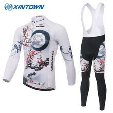 Mtb jersey XINTOWN Men Women Bike Cycling Jersey Clothing Breathable Quick Dry Ropa Ciclismo Longsleeve Maillot Cyclisme Femme