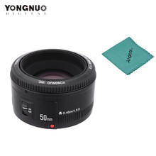 YONGNUO YN50mm Lens fixed focus EF 50mm F1.8 AF/MF lens Large Aperture Auto Focus Lens For Canon EOS 60D 70D 700D DSLR Camera(China)
