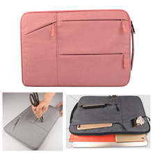 Notebook Bag For Macbook Pro Air 11 12 13 15 Men Women 15.4 15.6 Laptop Bag Handbag Messenger for Xiaomi Air Lenovo Dell HP Asus