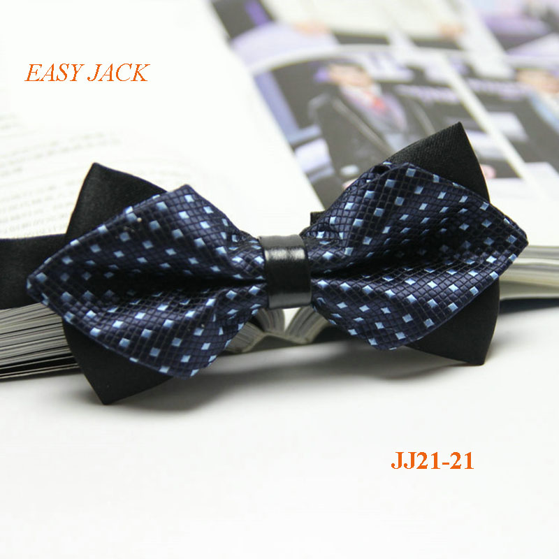 Angle Bowknot Men Bowties Popular Polyester Butterfly Bow tie Cravats Newest Business Wedding Party Shirts Neckwear La Corbatas