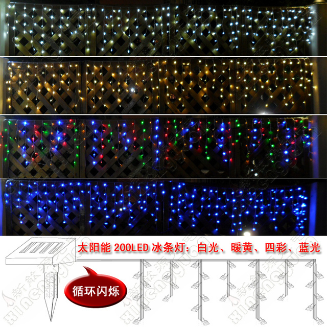 flicker led ice cycle bar lamp lighting string decoration lamp christmas lights festival lights neon lamp