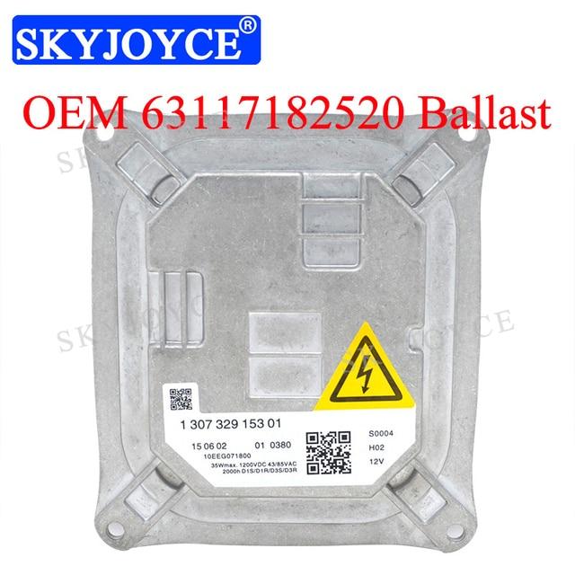 63117182520 Xenon Hid Ballast Headlight Control Unit 130732915301