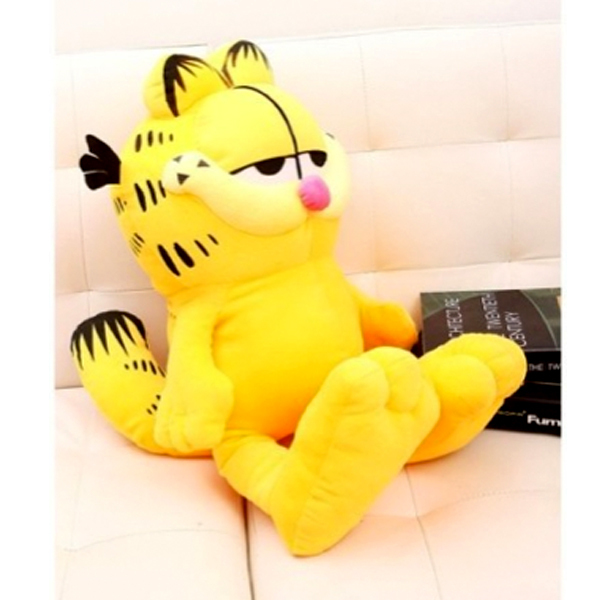 D950 Free shipping, large cartoon cat Garfield doll big plush toys Valentine's day, birthday present 50 cm цены