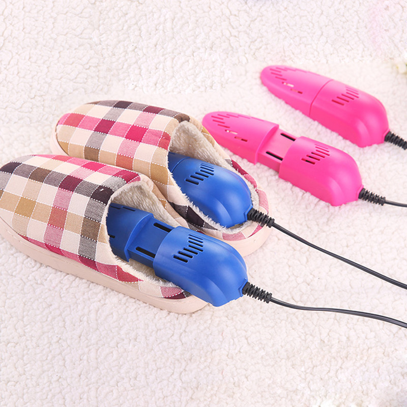 220V 10W Electric Shoe Dryer Foot Protector Boot Odor Deodorant Device Shoes Drier Heater Disinfector Shoe Drier