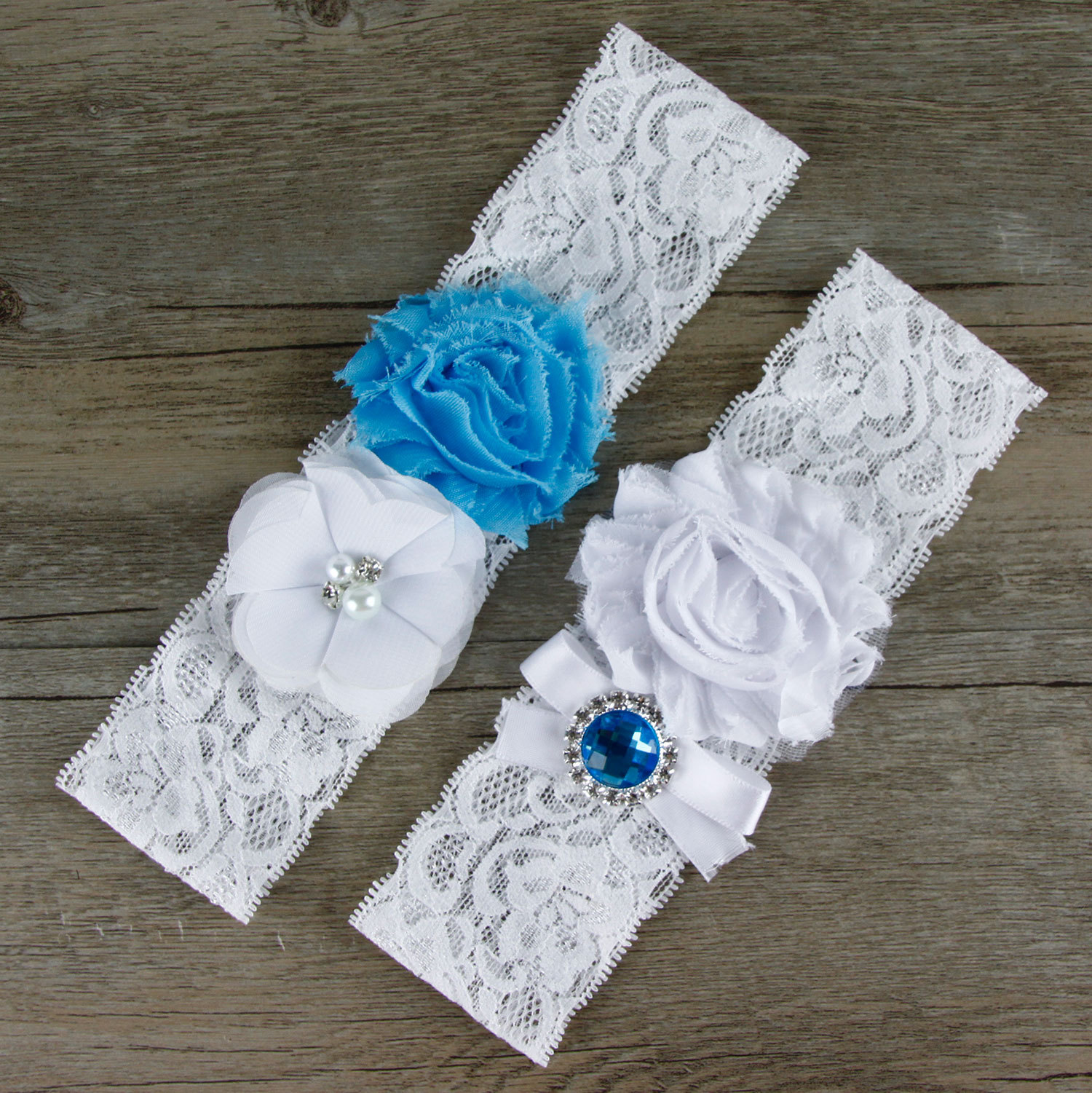 Wedding Leg Garter: Hot Sale 2Pcs Wedding Garter Set Lace Flower Bridal Garter