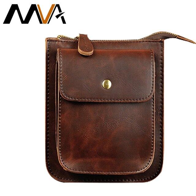 MVA PU Leather Men Bag Leather Chest Belt Waist Bag Men Shoulder Crossbody  Bag Money Belt Bag Phone Wallet Pouch b45395c044230