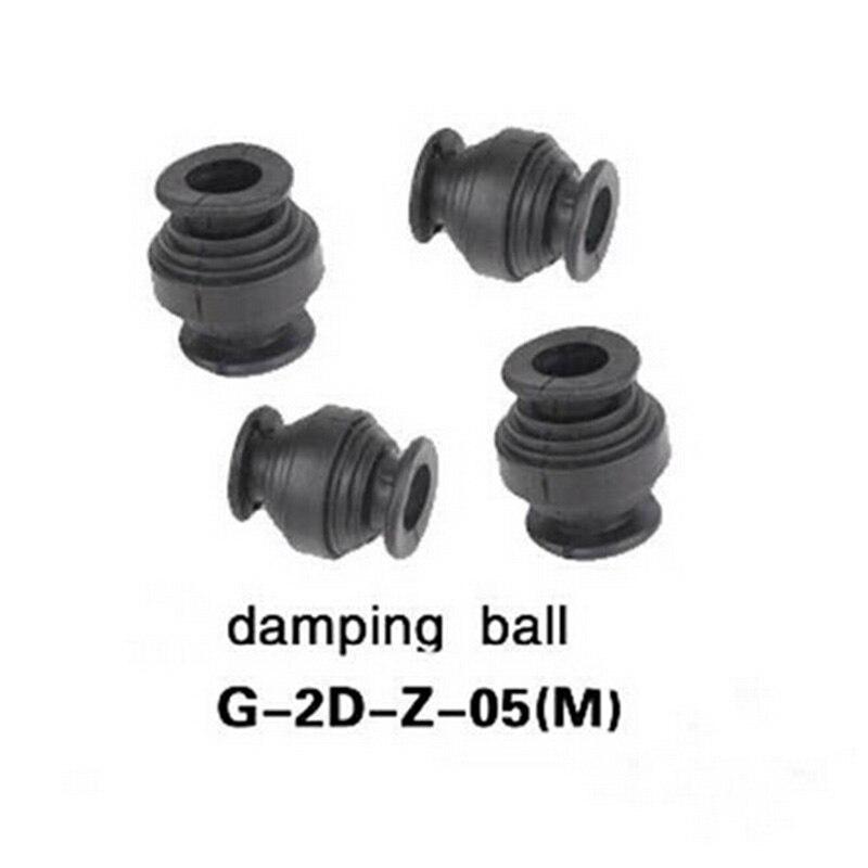 Free Shipping Original Walkera G-2D Brushless Gimbal Part Gimbal Damping Ball Set G-2D-Z-05(M)