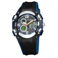 AD1309 Sport Watch Children Boys Digital Dial Quartz Watch Waterproof 30m LED Digital Display Clock For